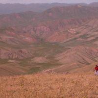 The view towards the Jumgal River (3300m), Майли-Сай