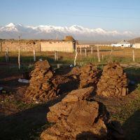 The Pamirs from Sary Tash, Сары-Таш