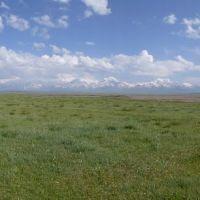 Panorama near Sary-Tash, Kyrgyzstan, Сары-Таш