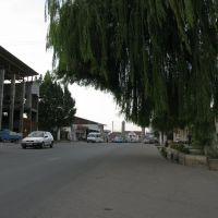 Uzgen, street, Узген