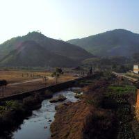 太坪镇-桥下游, Аксу