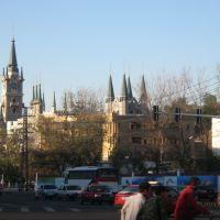 乌鲁木齐市中心的一处具有中亚风格的建筑, Урумчи