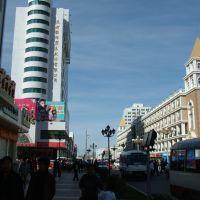 內蒙  滿洲里  街景, Маньчжурия