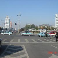 包头钢铁大街中段, Баотоу