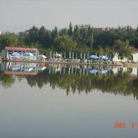 包头阿尔丁植物园人工湖, Баотоу