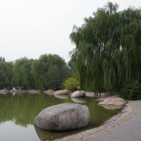 植物园人工湖, Баотоу