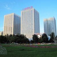 铁侠客走遍中国--2012年7月--包头市区银河广场风光, Баотоу