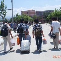 离开学校。实习去1, Ланьчжоу