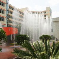 兰州市工业高等专科学校喷泉, Ланьчжоу