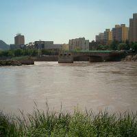 被拆掉的七里河大桥   2010年7月, Ланьчжоу