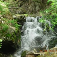 九叠泉瀑布, Аншань