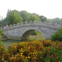 武汉解放公园文华桥, Ухань