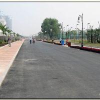 汉口江滩二期内车道及步道, Ухань