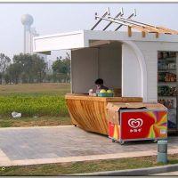 """汉口江滩二期——卡通式的售货亭,感觉就象是""""主题公园""""游戏中的!还可以更卡通化点!, Ухань"""