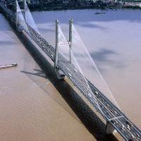 鸟瞰长江二桥, Ухань