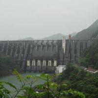 父辈们建造的水电站 - 乌溪江水电站,这是我父母亲参与建造的第五座大型水电站, Иянг