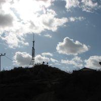 大尖山是兰州西郊最高的山 修了电视发射塔, Иангчау