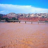 HuangHe (fleuve Jaune) vers Linxia, Иангчау