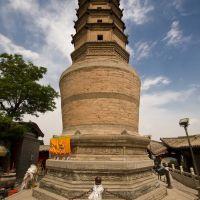 Lanzhou White Pagoda, Венчоу