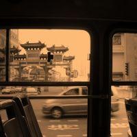 公交车上   on the bus, Нингпо