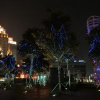 彩灯交织不夜天 (天一广场2009  Not sleeping night with many colorful intertwined Lights   ! (2009 in Tianyi square) !, Нингпо