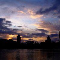 sunset  月湖, Нингпо