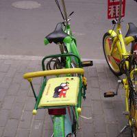 Teletubbies bike, Hangzhou, Ханчоу
