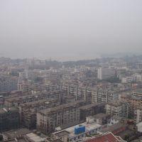 Hangzhou West lake Xi hu in background, Ханчоу