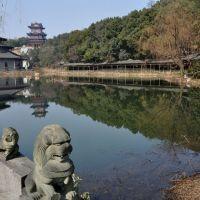 倒影 Inverted image in water, Ханчоу