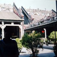 CHINA Templo de la Familia Chen, Canton, Гуанчжоу
