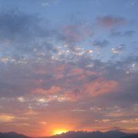 Արևամուտը Լոռվա լեռներում, Հայաստան, Закат в горах Лори,Армения, Ванадзор