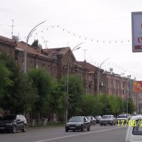 Sayat-Nova street in Gyumri, Гюмри