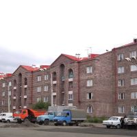 Post-earthquake residential buildings in Gyumri, Гюмри