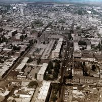 Aerial view of Leninakan - the second largest city of Armenia (pre-earthquake photo), Гюмри