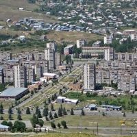 Raikom, panoramic view Hrazdan city, Раздан