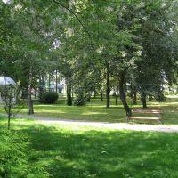 """Парк в оздоровительном центре """"Энергия"""" (Park in Wellness center Energia), Белоозерск"""