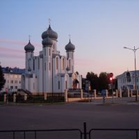 Chirch in Belaaziorsk, Белоозерск