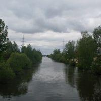 """""""Теплый"""" канал, Белоозерск"""