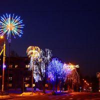 Белоозерск предпраздничный/New Year Eve Beloozersk, Белоозерск