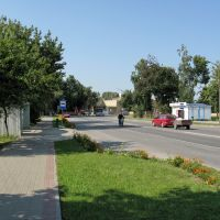Комсомольская улица (Komsomolskaya sreet), Береза Картуска