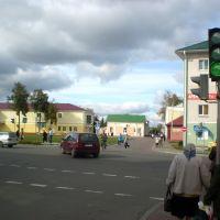 Скрыжаванне вул. Леніна і Савецкай, Береза Картуска