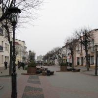 ►Пешеходная улица, Брест