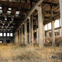Закінуты завод жалезабетонных вырабаў, Высокое