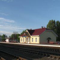 Железнодорожный вокзал., Ганцевичи