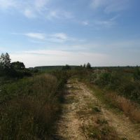 road of Polesye, Городище