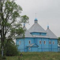 David-Gorodok. The 1724 St Georges Church, Давид-Городок