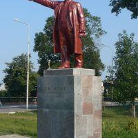 Lenin statue / David-Gorodok / Belarus, Давид-Городок