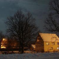 Лунная ночь 1.01.2010, Домачево