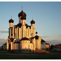 Pravoslavný kostel v Ivatsevichi, Belarus, Ивацевичи