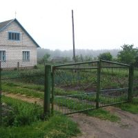 Въезд во двор Н.Ланец., Ивацевичи